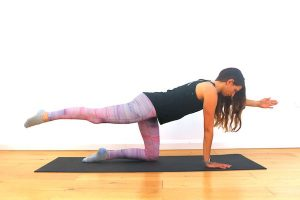 Super man pilates with Claire Cross Fitness and Wellness