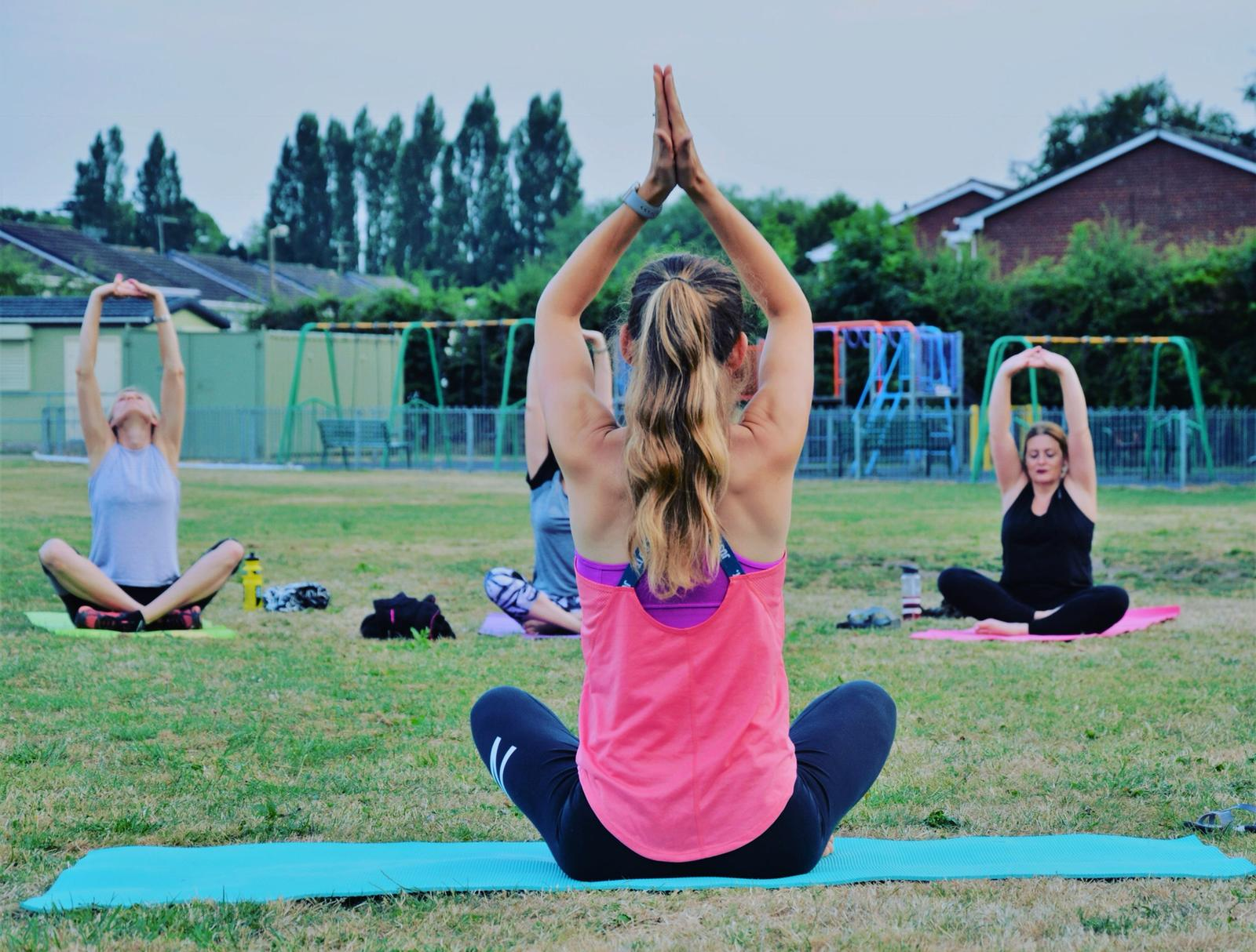 Outdoor Pilates with Claire Cross Fitness and Wellness